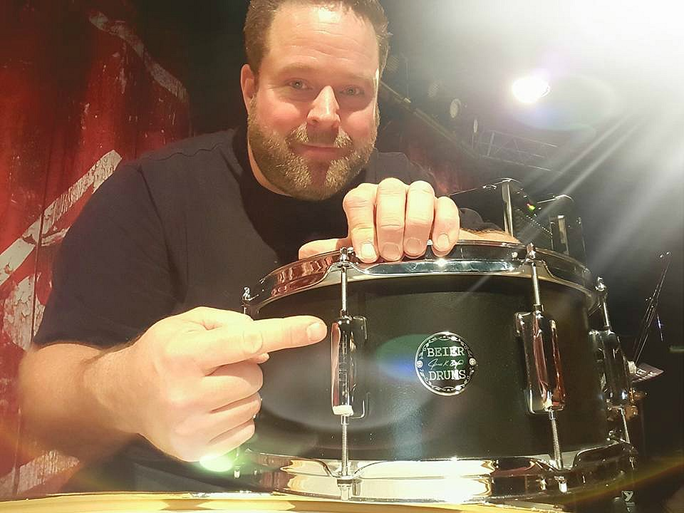 Chad Melchert-January 2017-MCC Recording in Calgary-Beier 1.5 Steel--6.5 x 14-