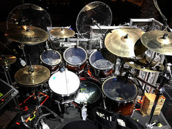 Mike Zimmerman's kit for the Kenny Rogers Christmas Tour-2016-Beier 1.5 Steel--6.5 x 14-~