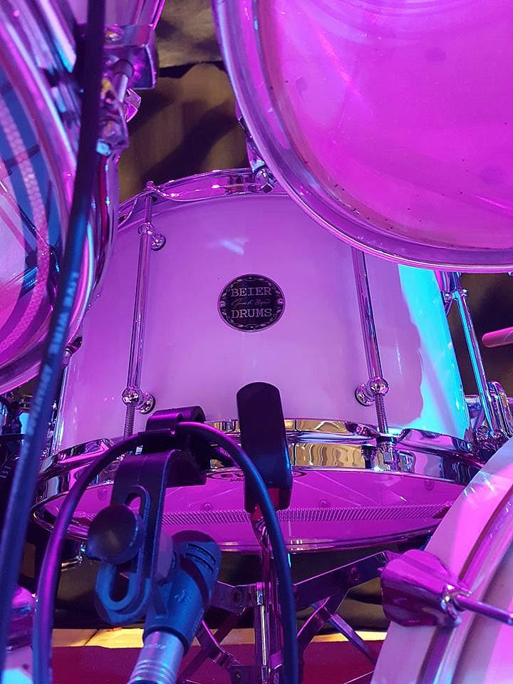 Andy Parker's Beier 1.5 Steel--8 x 14-2017 UFO Tour-Brimingham, England~