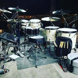 Zack Stewart's kit- (Josh Thompson)-Beier 1.5 Steel--6.5 x 15.....