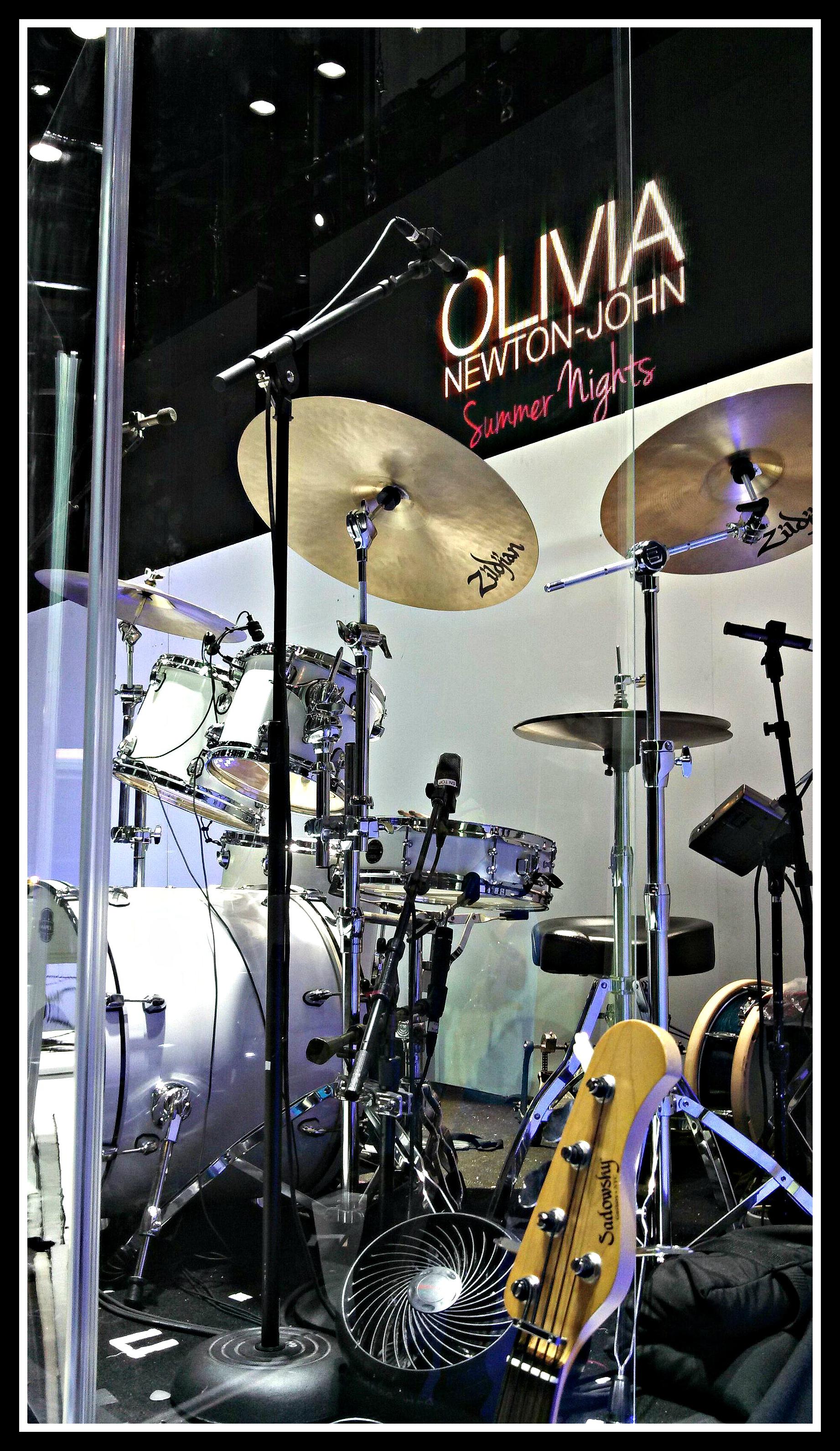 Mark Beckett's Kit-Flamingo-Las Vegas-Olivia Newton John-Beier 1.5 Steel--4 x 15-