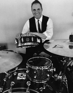 Steve Fruda (The Elements) with his Beier 1.5 Steel--5.5 x 14......