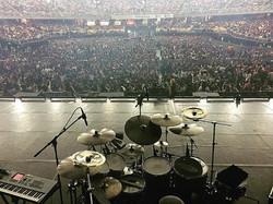 Tony Escapa-Movistar Arena-Santiago, Chile-Ricky Martin One World Tour-1.5 Steel--6.5 x 14..
