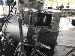 Scott Thompson's-Beier 1.5 Steel--6.5 x 14-Live with Pure Prairie League-Leesburg Bikefest-2017