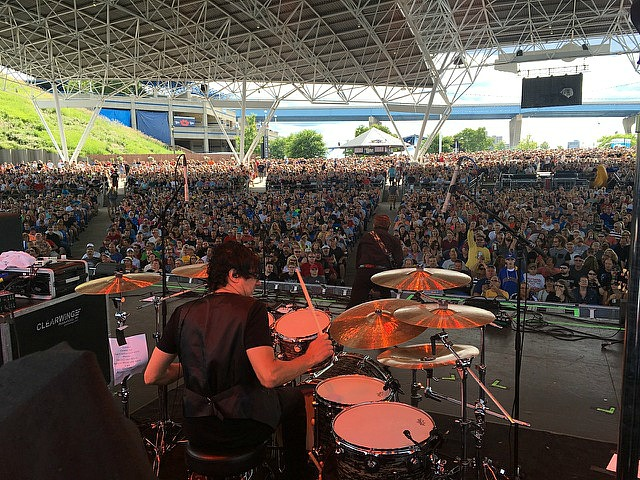 Jules Radino-Live with Blue Oyster Cult-Milwaukee-2016-Beier 1.5 Steel--6.5 x 14...