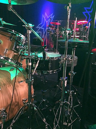 Del Gray's live kit with Little Texas-Op