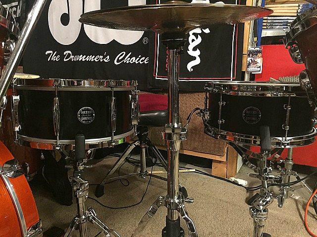 David Northrup (Oak Ridge Boys, Travis Tritt)-Beier 1.5 Steel--6.5 x 14 & 5.5 x 12....