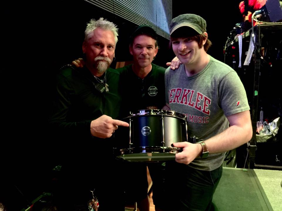 With Randy Walker & Jason Hartless in Chicago-Ted Nugent 2017 Tour-Beier 1.5 Steel--7.5 x 15~