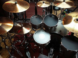 Andy Parker-UFO-Recording the fourth consecutive UFO record with Beier Drums...