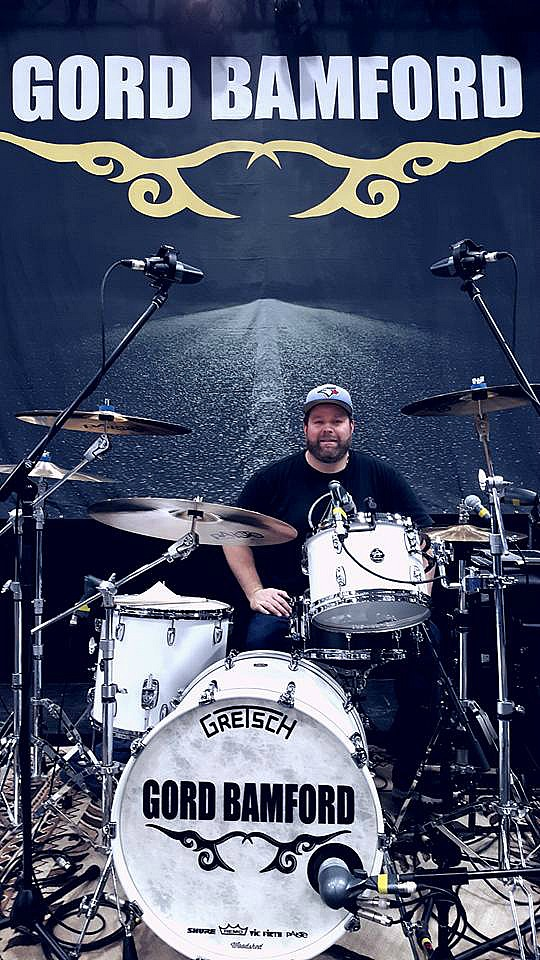 Chad Melchert-Live with Gord Bamford & his Beier 1.5 Steel--6.5 x 14...2016 Tour~