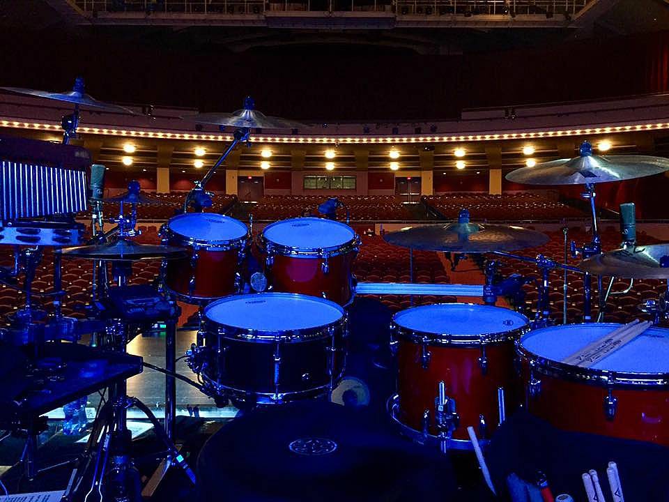 David Northrup's kit-Oak Ridge Boys Christmas Tour-1.5 Steel--6.5 x 15-Milwaukee Theater-2016-~
