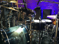 Jules Radino's kit-Blue Oyster Cult-AT&T Audience Network Concert Series-Beier 1.5 Steel--6.5 X 14..
