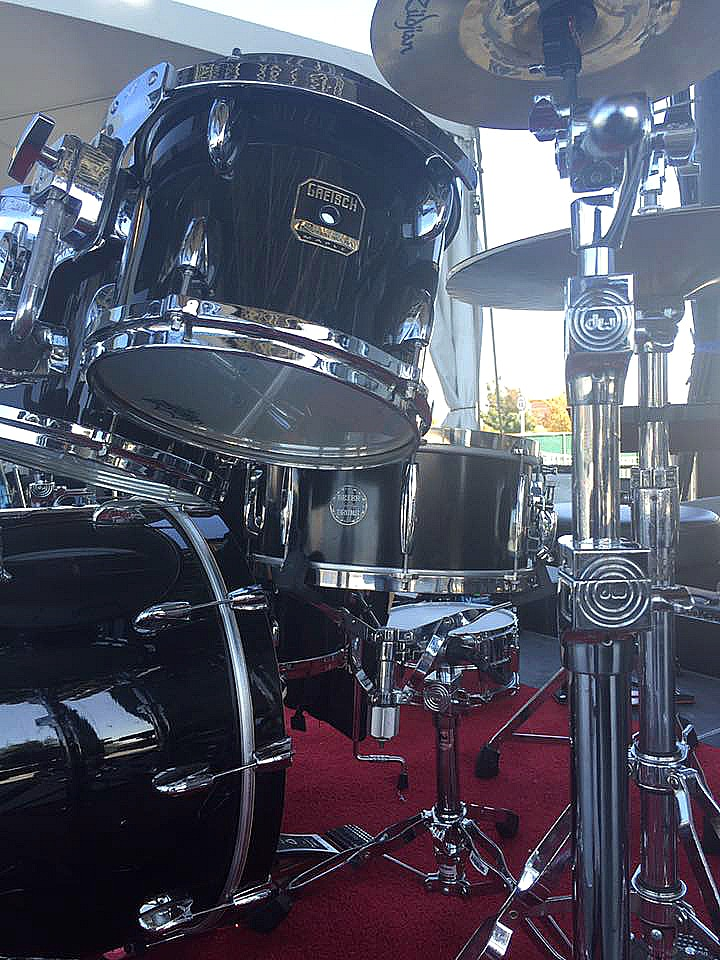 David Northrup's kit-Oak Ridge Boys Tour-2016-Beier 1.5 Steel Snare--6.5 x 14...