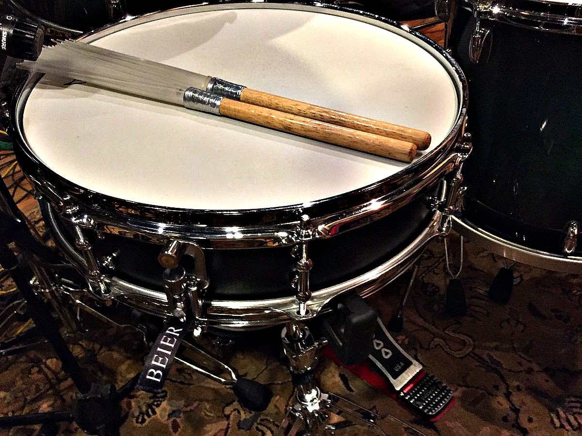 David Northrup's 1.5 Steel--4 x 15 in the studio for the Oak Ridge Boys new Christmas record-2016~