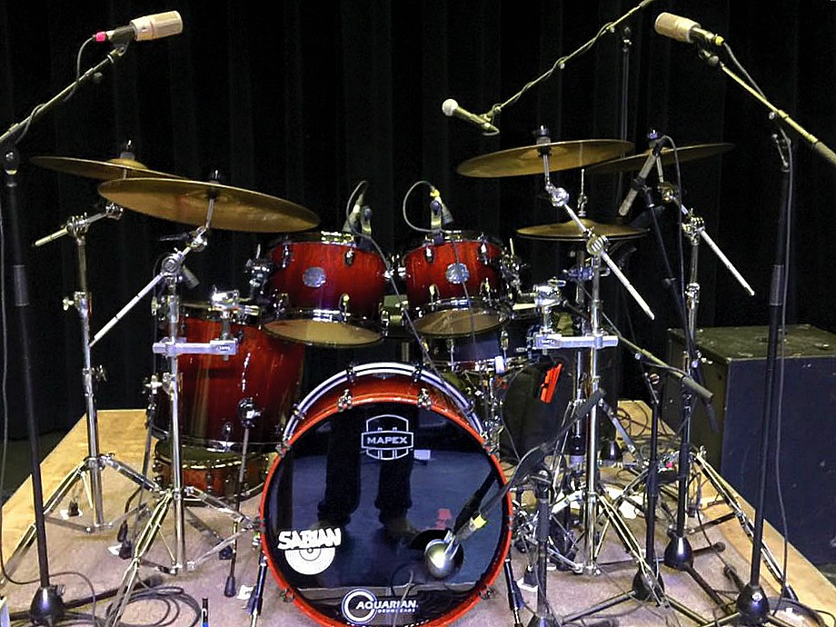 Scott Thompson's Live Kit-With Collin Raye-Beier 1.5 Steel Snare--5.5 x 14-