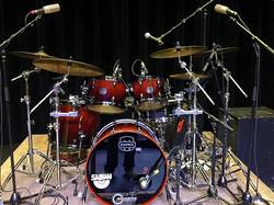 Scott Thompson's Live Kit-With Collin Raye-Beier 1.5 Steel Snare--5.5 x 14-