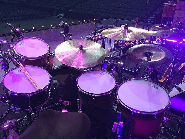 Keith Zebroski's kit-Miranda Lambert- Highway Vagabond Tour 2017-1.5 Steel--7.5 x 14...