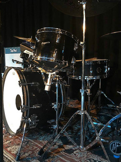 Kevin Brown's (Show Ponies) vintage Rogers road kit with his Beier 1.5 Steel--5.5 x 15....
