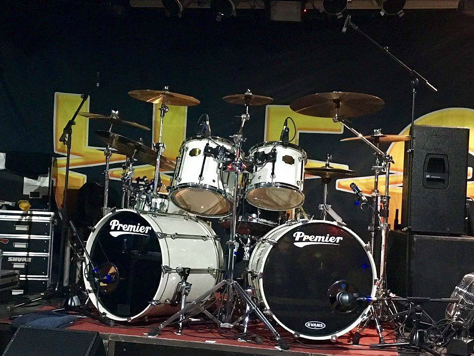 Andy Parker's kit-UFO-Fall European Tour 2016...Beier 1.5 Steel--5.5 x 14~