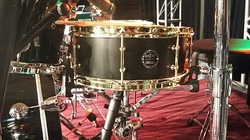 Dave Maier of Intellasound Backline using his Beier 1.5 Steel--5.5 x 14 for Uncle Kracker live-