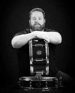 Chad Melchert (Gord Bamford, CCMA Drummer Of The Year 2016) & his mains-Beier 1.5 Steel-4 x 15 & 6.5