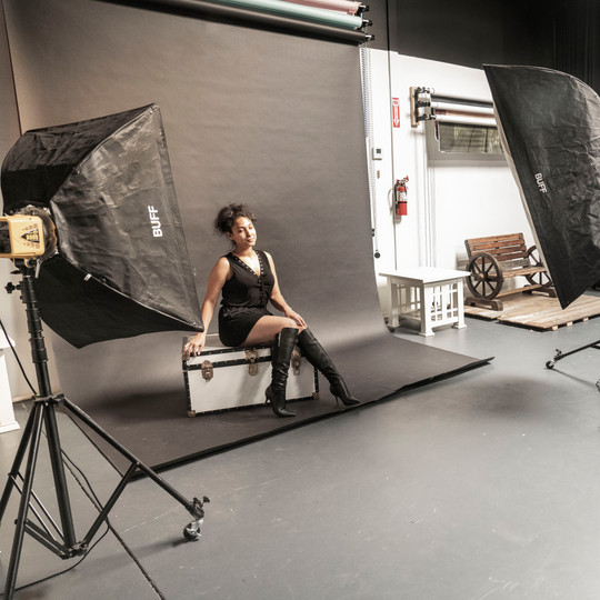 Studio B Photo Shoot Set Up