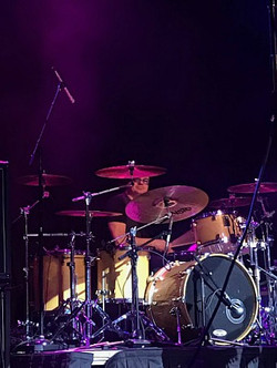 Jules Radino-Live with Blue Oyster Cult-Milwaukee-2017-1.5 Steel--6.5 x 14-~
