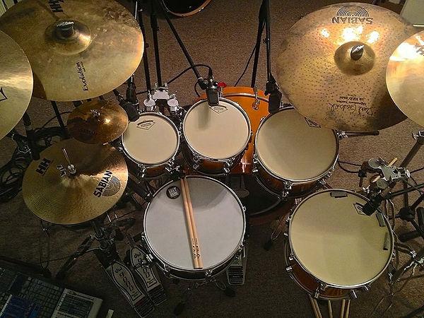 Randy Walker-DW  Hybrid Kit-Maple Bass