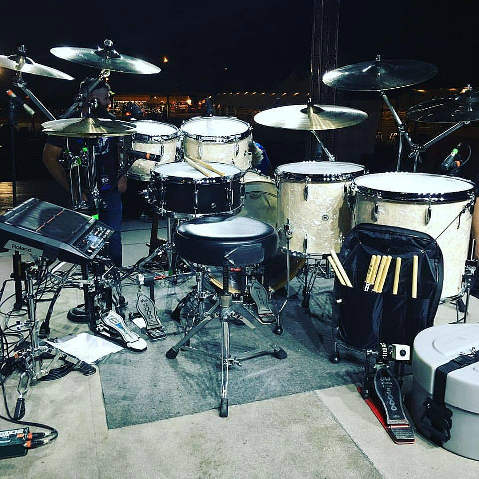 Zack Stewart's kit- (Josh Thompson)-Beier 1.5 Steel--6.5 x 15.....