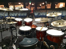 David Northrup's live kit March 2017-Warsaw, IN., -The Oak Ridge Boys-Beier 1.5 Steel--6.5 x 14~