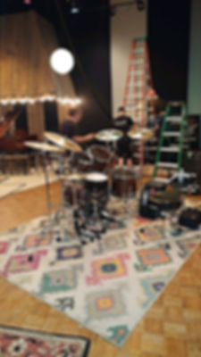 Eddie Bayer's kit-On set for an upcoming