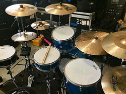 David Northrup's (Boz Scaggs, Oak Ridge Boys, Travis Tritt) classic 1970 Ludwig kit with his Beier 1