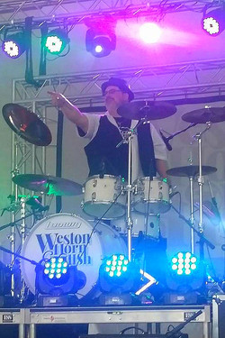 Mat Donaldson (Drum World Tulsa)-Rocklahoma-Weston Horn & The Hush-Beier 1.5 Steel--8 x 14-