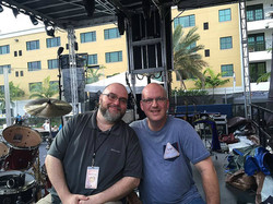 Mark Beckett & Pat McDonald-Olivia Newton John live in Florida-1.5 Steel--5.5 x 14...