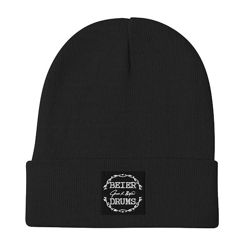 *Embroidered Beanie