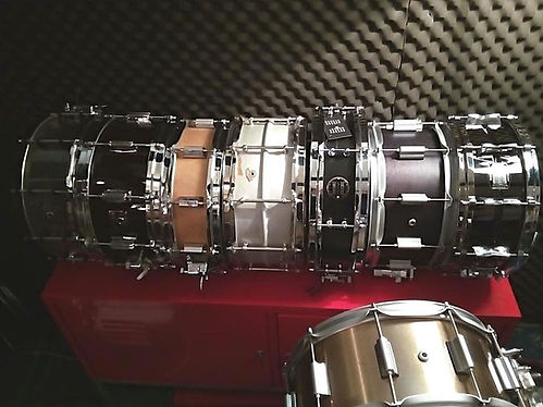Thomas Nussbaum's snare drums for live p