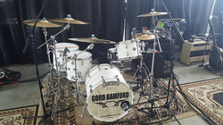Chad Melchert's new Gretsch kit for the 2017 Gord Bamford Tour-Beier 1.5 Steel--6.5 x 14...
