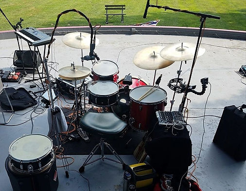 Donn Deniston's live kit (Mike Gentry, M