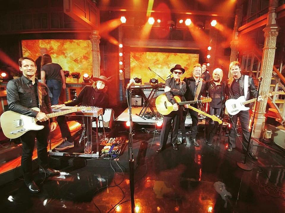 The incredible Miranda Lambert Band-The Late Show-Stephen Colbert-Keith Zebroski-1.5 Steel--5.5 x 14