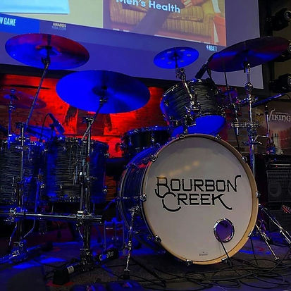 Dave Perrault's live kit-Bourbon Creek-S