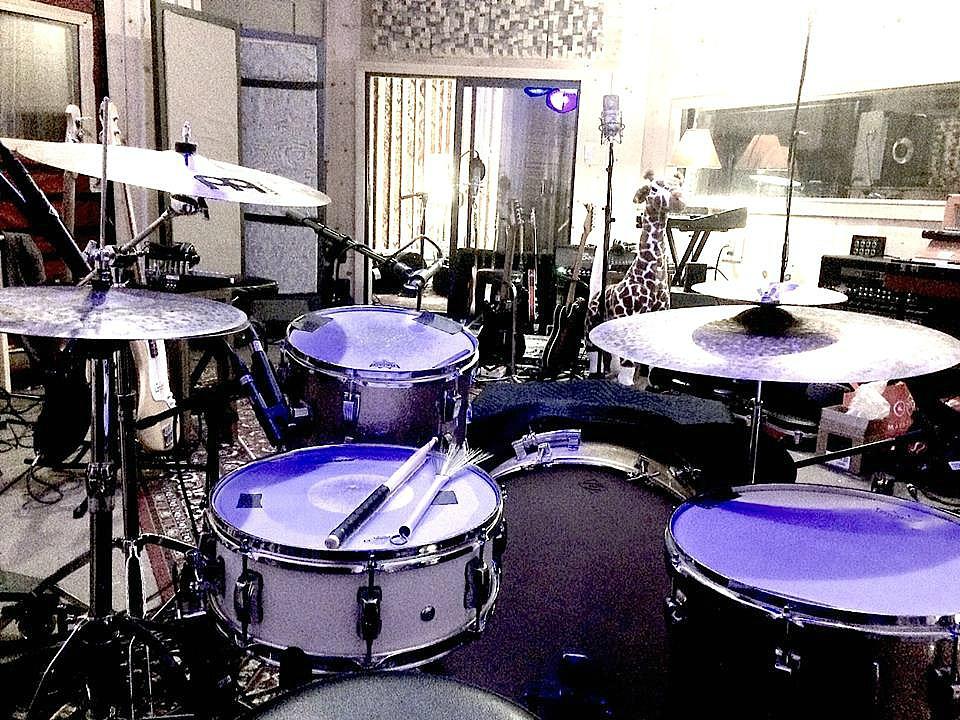 Erik Eldenius' kit (Billy Idol)-Tracking for Ian Gott's new record in L.A.-1.5 Steel--5.5 x 15~