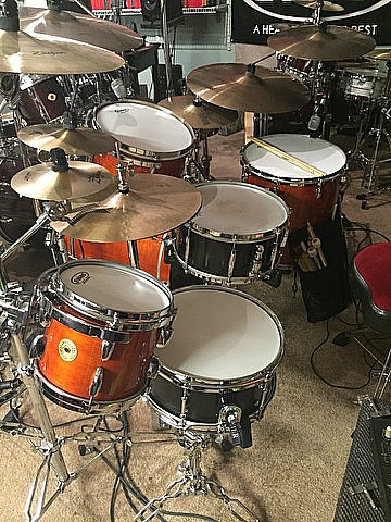 David Northrup (Oak Ridge Boys, Travis Tritt)-Beier 1.5 Steel--6.5 x 14 & 5.5 x 12...