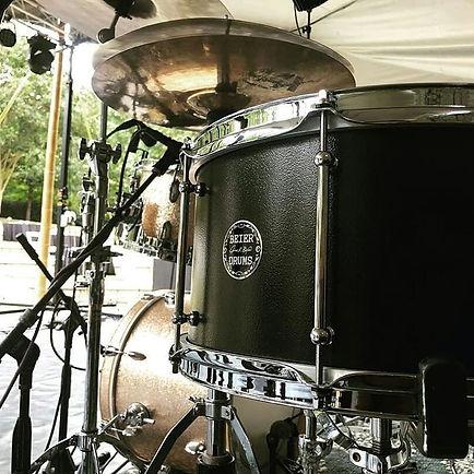 Zack Albetta's live kit with his Beier 1