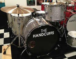 Brad Elvis (The Handcuffs, The Romantics)-One of his vintage kits-Beier 1.5 Steel--5.5 x 14..
