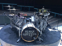 Tracy Broussard's kit-Blake Shelton Tour 2017-Rabobank Arena-1.5 Steel--6.5 x 14...