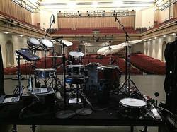 Tucker Wilson's live kit-Canaan Smith-Van Meter Hall-Bowling Green, KY.-1.5 Steel--5.5 x 14-