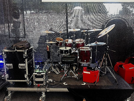 Thomas Nussbaum's kit-Night Of The Prog