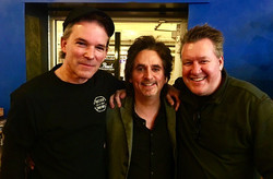 With two very special friends of mine-Todd Sucherman & Greg Marsh at one of Todd's clinics-12-2016~