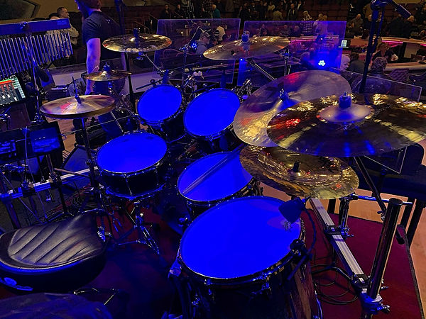 Rodney Edmondson's live kit-Ronnie Milsa