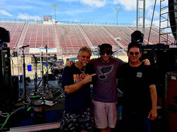 With Randy Walker & Jason Hartless-Ted Nugent's Sonic Baptizm Tour...